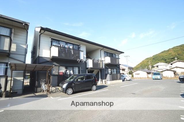 岡山県倉敷市、西富井駅徒歩20分の築17年 2階建の賃貸アパート