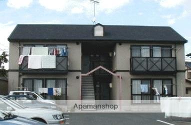 岡山県総社市、東総社駅徒歩8分の築21年 2階建の賃貸アパート