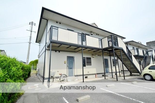 岡山県倉敷市、西富井駅徒歩16分の築21年 2階建の賃貸アパート