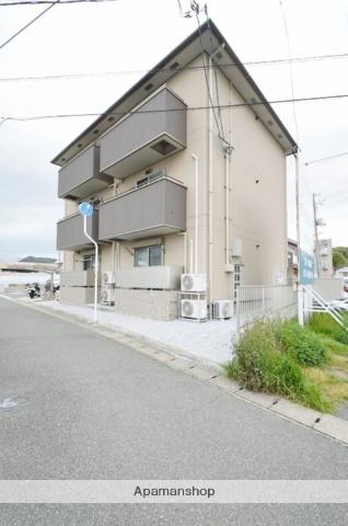 岡山県倉敷市、児島駅徒歩11分の築2年 3階建の賃貸アパート