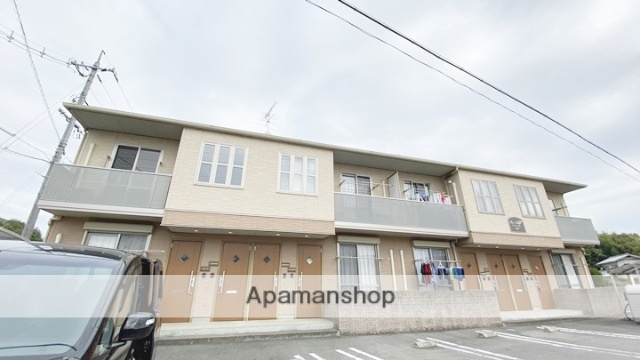 岡山県岡山市東区、万富駅徒歩6分の築7年 2階建の賃貸アパート