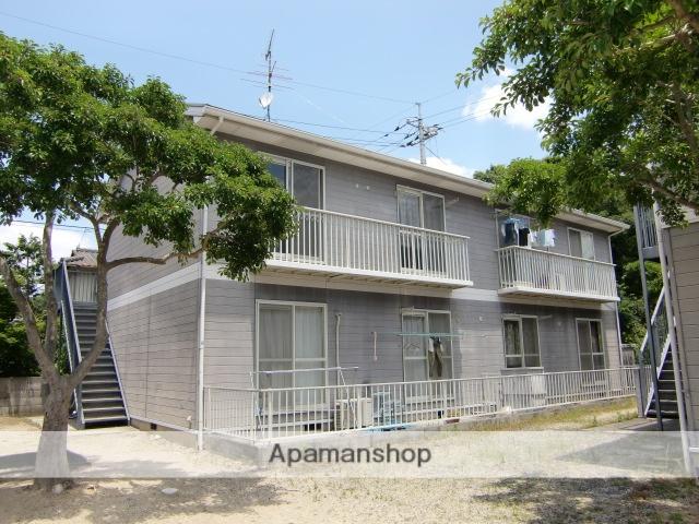 岡山県岡山市南区、八浜駅徒歩103分の築22年 2階建の賃貸アパート