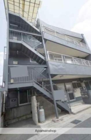 岡山県倉敷市、倉敷駅徒歩12分の築32年 3階建の賃貸マンション