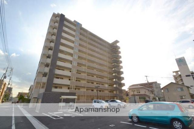 岡山県岡山市北区、大元駅徒歩11分の新築 11階建の賃貸マンション