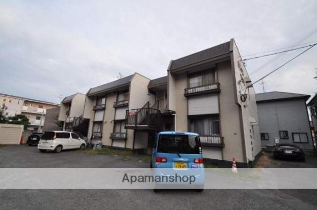 岡山県岡山市北区、岡山駅徒歩17分の築35年 2階建の賃貸アパート