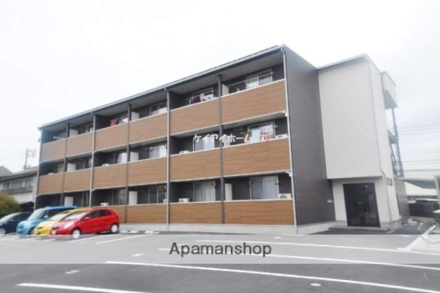 岡山県岡山市北区、北長瀬駅徒歩20分の新築 3階建の賃貸アパート