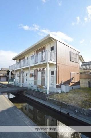 岡山県倉敷市、茶屋町駅徒歩19分の築34年 2階建の賃貸アパート