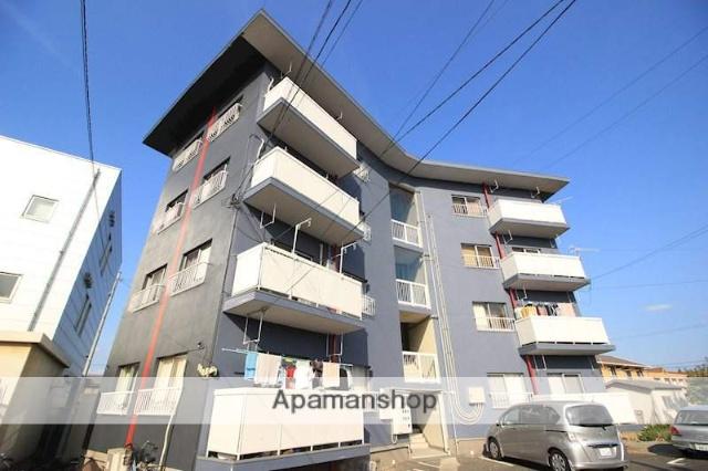 岡山県倉敷市、常盤駅徒歩13分の築46年 4階建の賃貸アパート