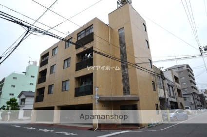 岡山県岡山市北区、西川緑道公園駅徒歩7分の築42年 4階建の賃貸マンション