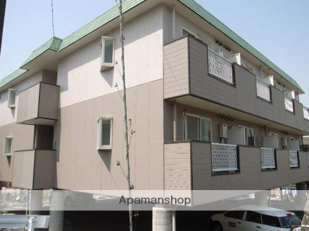 岡山県岡山市中区、中納言駅徒歩16分の築25年 3階建の賃貸マンション