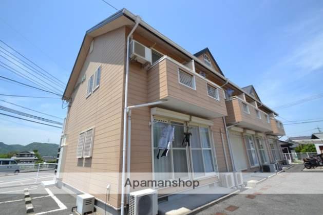 岡山県玉野市、常山駅徒歩60分の築21年 2階建の賃貸アパート