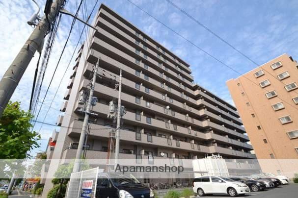 岡山県岡山市北区、岡山駅徒歩15分の築22年 11階建の賃貸マンション