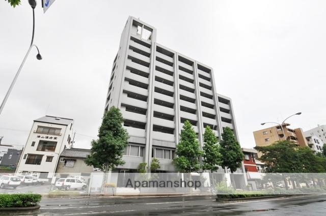 岡山県岡山市北区、岡山駅徒歩17分の築16年 10階建の賃貸マンション