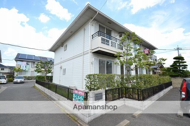 岡山県岡山市中区、高島駅徒歩14分の築25年 2階建の賃貸アパート