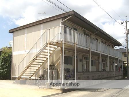 岡山県岡山市北区、庭瀬駅徒歩25分の築36年 2階建の賃貸アパート