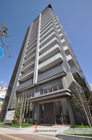 岡山県岡山市北区、岡山駅徒歩11分の築3年 18階建の賃貸マンション