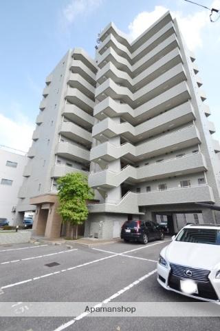 岡山県岡山市北区、郵便局前駅徒歩5分の築15年 10階建の賃貸マンション