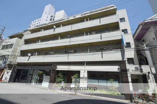 岡山県岡山市北区、岡山駅徒歩10分の築32年 5階建の賃貸マンション