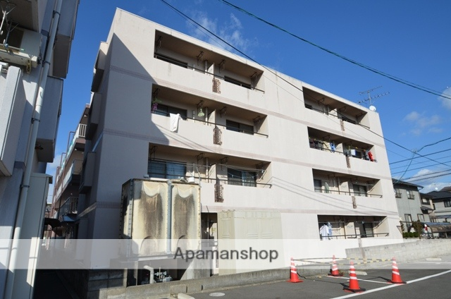 岡山県岡山市中区、西川原駅徒歩7分の築21年 4階建の賃貸マンション