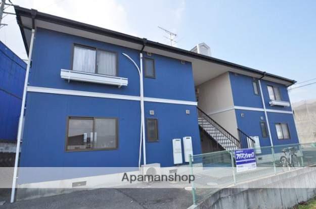 岡山県岡山市北区、足守駅徒歩14分の築23年 2階建の賃貸アパート