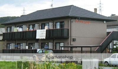 岡山県倉敷市、上の町駅徒歩30分の築18年 2階建の賃貸アパート