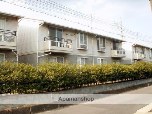 岡山県倉敷市、常盤駅徒歩17分の築21年 2階建の賃貸アパート