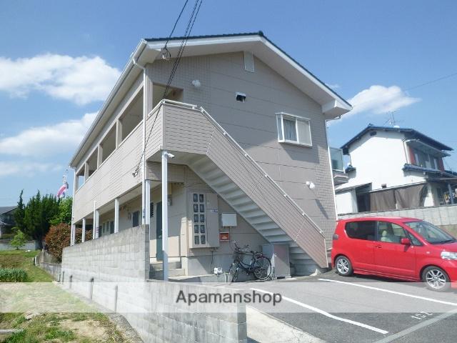 岡山県倉敷市、北長瀬駅徒歩68分の築20年 2階建の賃貸アパート
