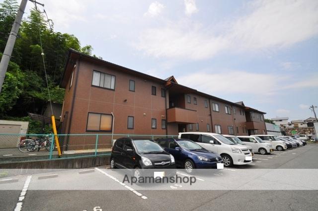 岡山県倉敷市、中庄駅徒歩2分の築17年 2階建の賃貸アパート