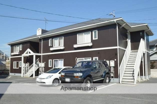 岡山県倉敷市、西阿知駅徒歩5分の築25年 2階建の賃貸アパート