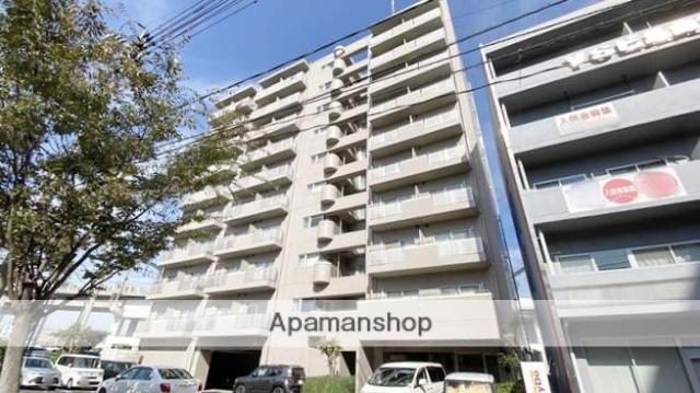 岡山県岡山市北区、岡山駅徒歩12分の築20年 10階建の賃貸マンション