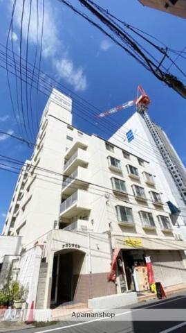 岡山県岡山市北区、岡山駅徒歩12分の築35年 9階建の賃貸マンション
