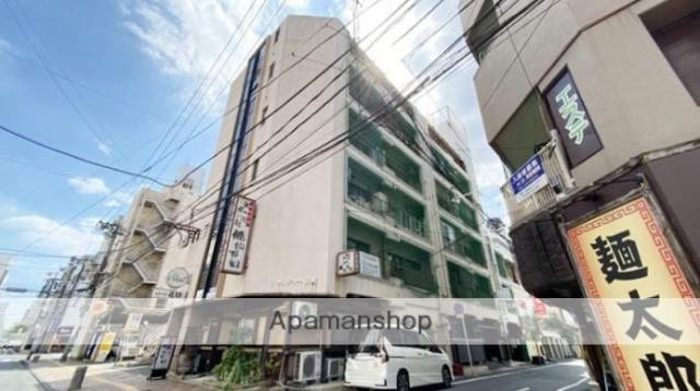 岡山県岡山市北区、岡山駅徒歩16分の築40年 6階建の賃貸マンション