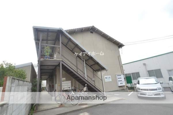 岡山県岡山市中区、高島駅徒歩5分の築40年 2階建の賃貸アパート