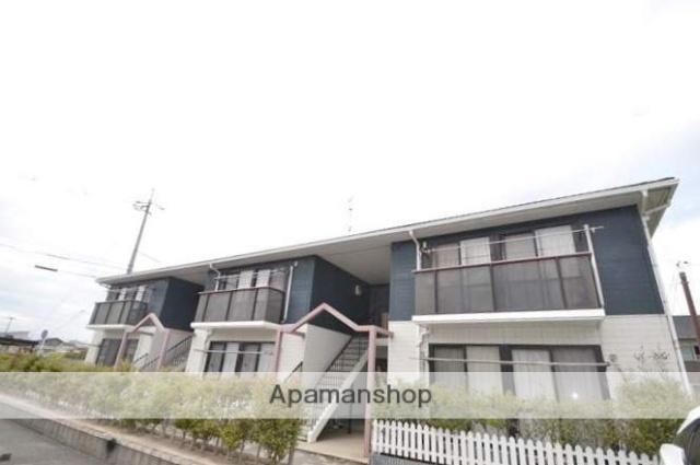岡山県岡山市南区、備前西市駅徒歩53分の築21年 2階建の賃貸アパート