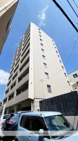 岡山県岡山市北区、岡山駅徒歩8分の築11年 11階建の賃貸マンション