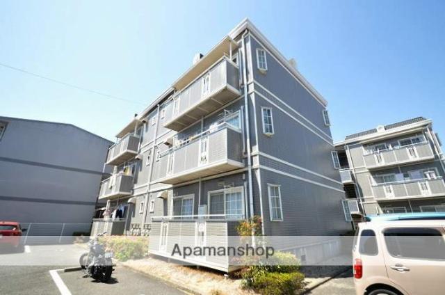 岡山県岡山市北区、法界院駅徒歩5分の築24年 3階建の賃貸アパート