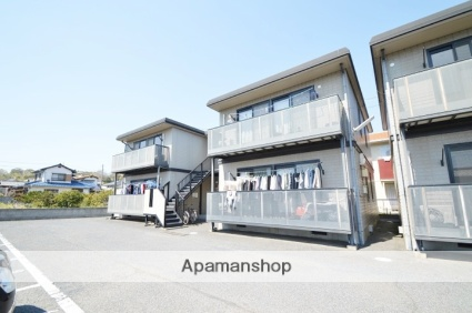 岡山県倉敷市、新倉敷駅徒歩43分の築17年 2階建の賃貸アパート