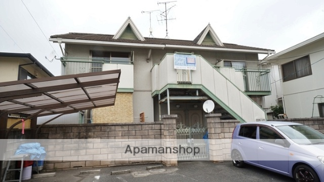 岡山県倉敷市、中庄駅徒歩39分の築31年 2階建の賃貸アパート