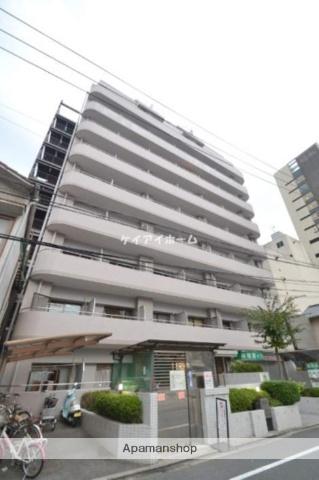 岡山県岡山市北区、岡山駅徒歩17分の築26年 11階建の賃貸マンション