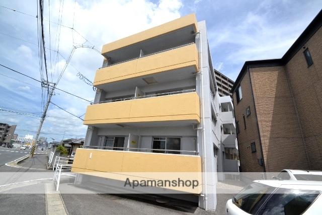 岡山県岡山市北区、岡山駅徒歩27分の築33年 3階建の賃貸マンション