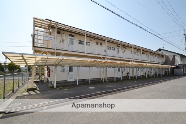岡山県岡山市南区、備前西市駅徒歩43分の築27年 2階建の賃貸アパート