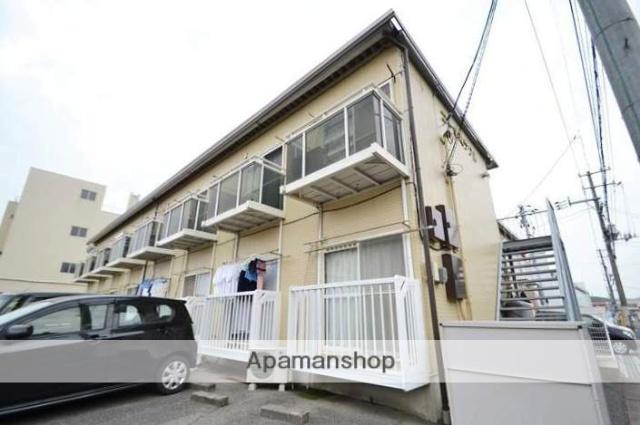 岡山県岡山市東区、西大寺駅徒歩5分の築25年 2階建の賃貸アパート