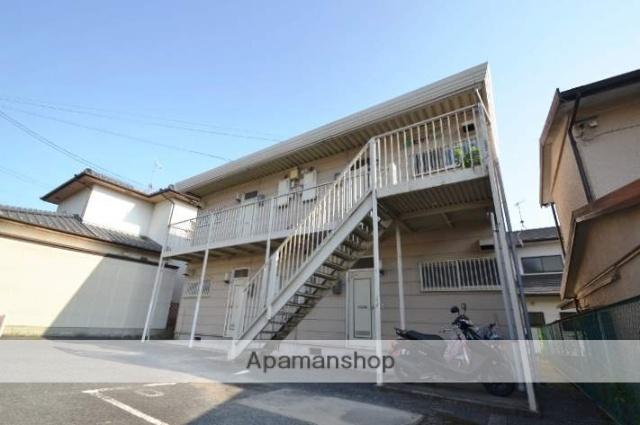 岡山県玉野市、常山駅徒歩45分の築36年 2階建の賃貸アパート
