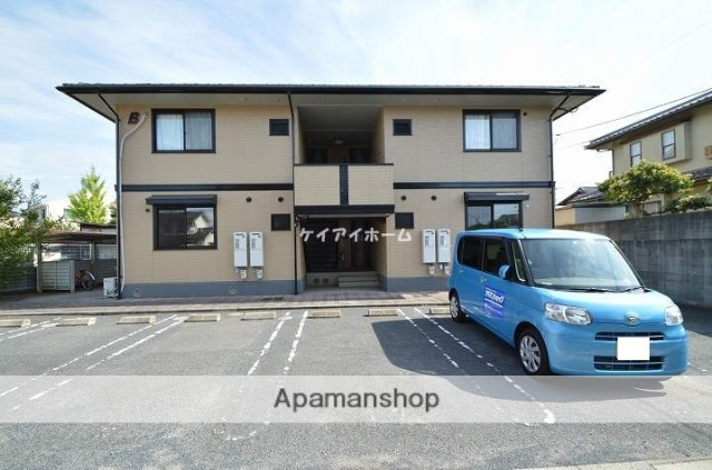 岡山県倉敷市、西阿知駅徒歩13分の築15年 2階建の賃貸アパート
