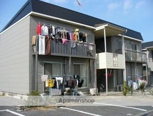 岡山県倉敷市、新倉敷駅徒歩24分の築30年 2階建の賃貸アパート