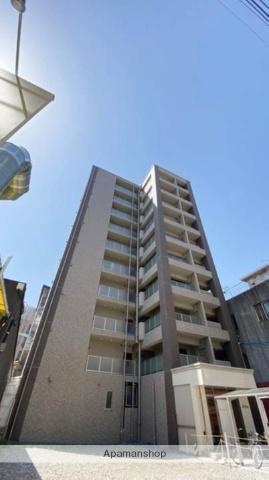 岡山県岡山市北区、岡山駅徒歩7分の築1年 10階建の賃貸マンション
