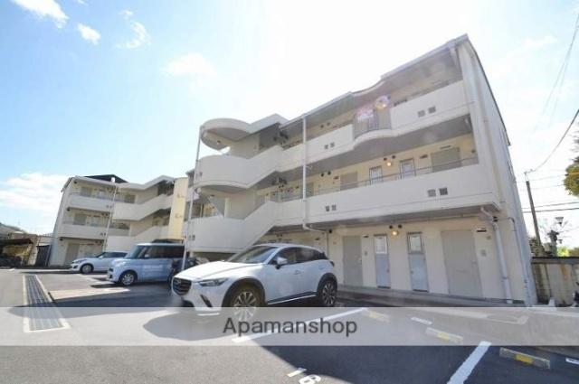 岡山県岡山市北区、岡山駅徒歩44分の築29年 3階建の賃貸マンション