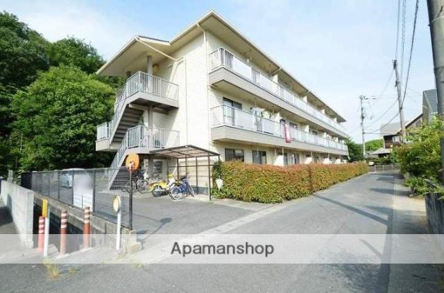 岡山県倉敷市、茶屋町駅徒歩28分の築23年 3階建の賃貸アパート