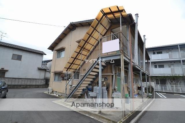 岡山県岡山市中区、高島駅徒歩13分の築41年 2階建の賃貸アパート