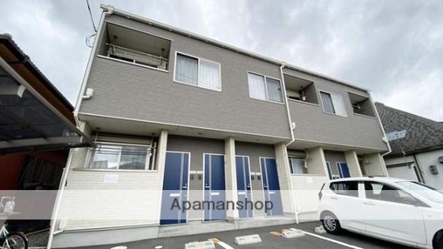 岡山県岡山市北区、法界院駅徒歩16分の新築 2階建の賃貸アパート